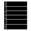 Prinz Hagner Style Single-Sided Stocksheet 6 Rows