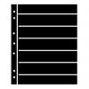 Prinz Hagner Style Single-Sided Stocksheet 7 Rows