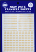 Whitman Gold Date Transfer Sheets