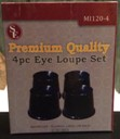 SE Premium Quality 4 Piece Eye Loupe Set