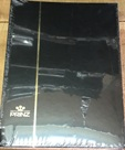 Prinz Stock Book (#2032), 32 Double-Sided White Pages, Black Cover