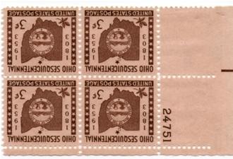 Plate Blocks 1018