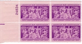 Plate Blocks 1022