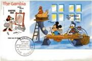Disney FDC62 The Gambia 27Apr84
