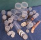 10 Whitman/Harris Cent Coin Tubes