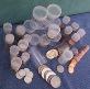 10 Whitman/Harris Large Dollar Coin Tubes