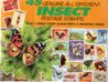 Insect Postage Stamps Plus