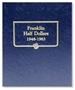 Whitman 9126 Franklin Half Dollar Album