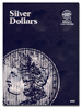 Whitman 9025 Silver Dollars Plain